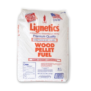 Lignetics® Wood Fuel Pellets 40lb