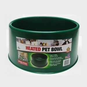 Farm Innovators Heated Pet Bowl 1.5 Gallon $22.99