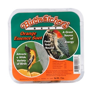 Birdwatcher's Best Orange Essence Suet 11oz