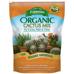 Espoma Organic Cactus Potting Mix 4qt