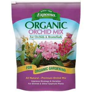 Espoma Organic Orchid Potting Mix 4qt