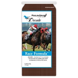 Poulin Grain Decade Race Formula Horse Feed 50lb