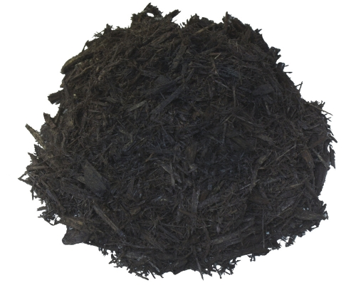 Natural Double Pro Black Mulch