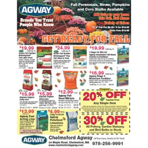 sales flyer savings chelmsford agway chelmsford ma