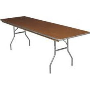 TABLE, 8' RECTANGULAR