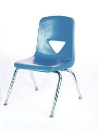CHAIR, CHILDREN'S ROYAL BLUE