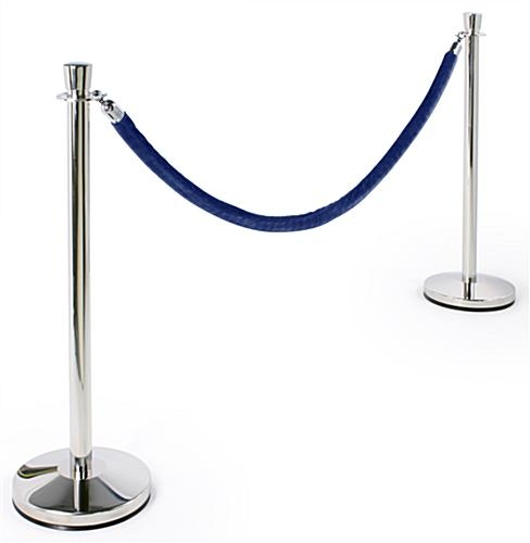 STANCHION ROPE (BLUE VELVET)