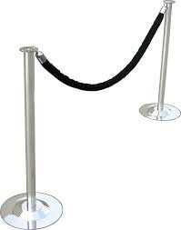 STANCHION ROPE (BLACK VELVET)