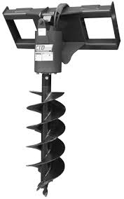 MINI SKIDSTEER, AUGER ATTACHMENT 12