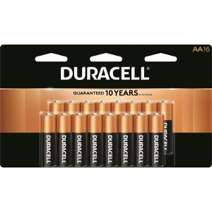 $12.99 for 16 pk  AA or AAA Batteries