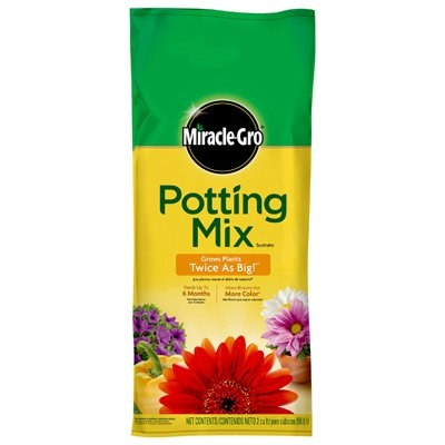 $9.99 for Miracle-Gro 2 Cu. Ft. Potting Mix