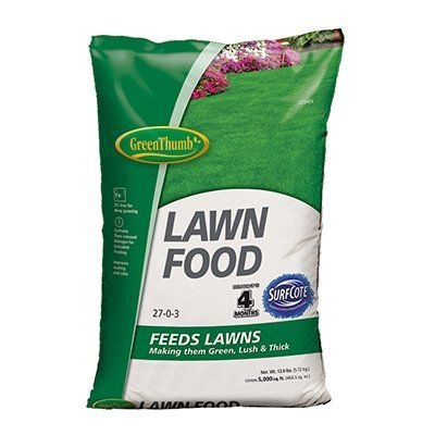 $9.99 for Green Thumb Lawn Food 5,000-Ft.