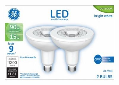 $19.99 for GE LED Light Bulb, Par 38, 15-Watts