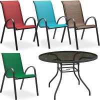 $16.99 for Verona Stacking Patio Chairs