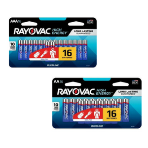 $4.99 Your Choice Rayovac AA or AAA Batteries