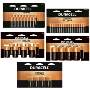 $12.99 Your Choice Duracell Batteries