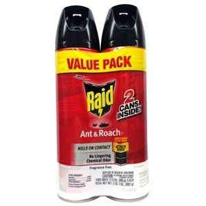 $7.97 Raid® 2 Pack Ant & Roach Killer