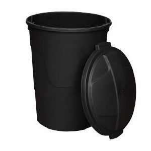 $9.99 32 gal. Trash Can with Lid