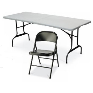 $34.99 Delux Folding Table