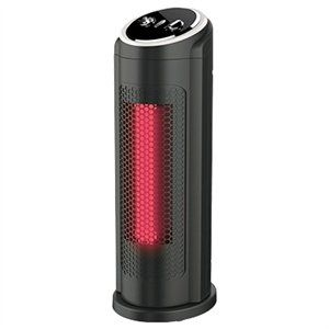 $39.99 16-inch Infrared Tower Heater and Fan