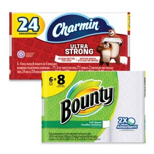 $8.99 Your Choice Bath Tissue or Paper Towel