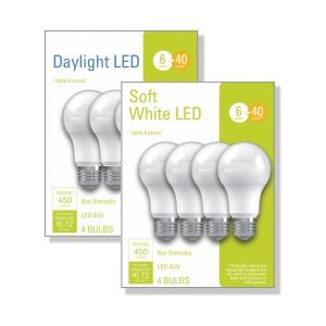 Your Choice GE LED Bulbs $5.99 (zone TUZ)