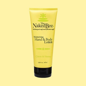 The Naked Bee® Citron & Honey Lotion 2.25 oz.