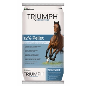 Nutrena® Triumph® 12% Pelleted Horse Feed