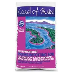 Coast of Maine Bar Harbor Blend Premium Potting Soil 1 Cubic Foot