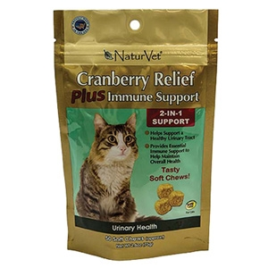 Cranberry Relief® 2-in-1 Cat Soft Chews 50 Count