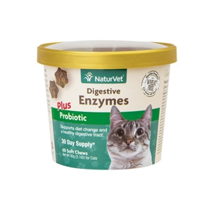 Digestive Enzymes Cat Soft Chews 50 Count