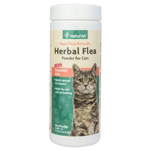 Herbal Flea Powder For Cats 4oz