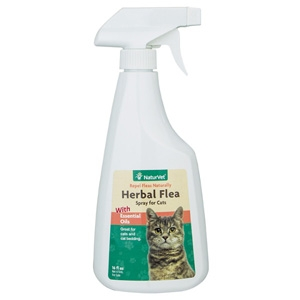 Herbal Flea Spray For Cats 16oz