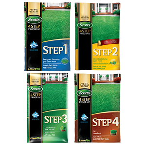 Scotts 4 Step Lawn Program 5M
