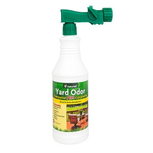 NaturVet Yard Odor Eliminator Plus Citronella Spray Stool & Urine Deodorizer 32 fl. oz. Spray