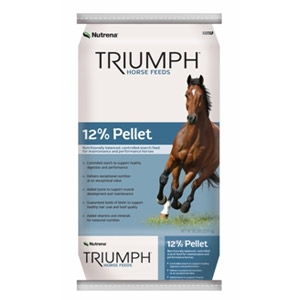 Nutrena® Triumph 12% Pelleted Horse Feed
