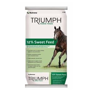 Nutrena® Triumph 12% Sweet Horse Feed