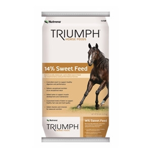 Nutrena® Triumph 14% Sweet Horse Feed