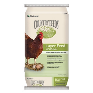 Nutrena® Country Feeds® Layer 16% Feed Pellet Poultry Feed