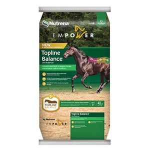 Nutrena® Empower® Topline Ration Balancer for Horses
