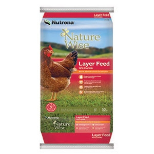 Nutrena® NatureWise® Layer 16% Crumble Poultry Feed