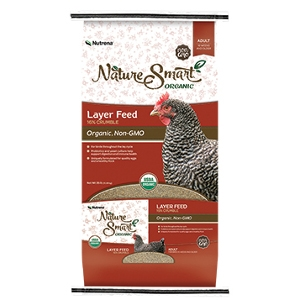 Nature Smart Organic Layer 16% Crumble Feed
