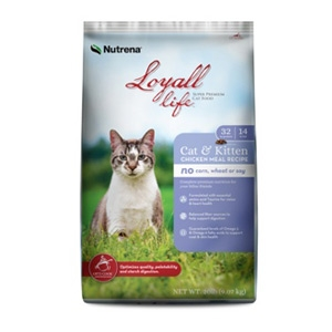 Nutrena® Loyall Life Cat & Kitten Chicken Meal Recipe 4lb