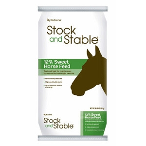 Nutrena® Stock and Stable 12% Sweet Horse Feed