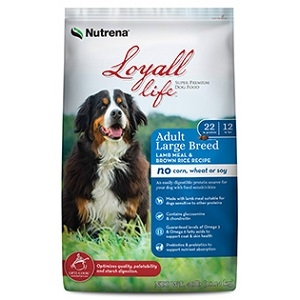 Nutrena® Loyall Life Adult Large Breed Lamb Meal & Rice Recipe 40lb