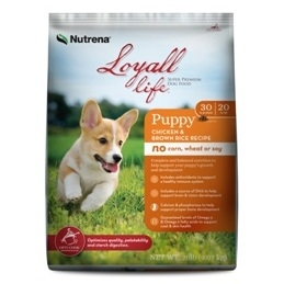 Nutrena® Loyall Life Large Breed Puppy Chicken & Brown Rice Recipe 40lb