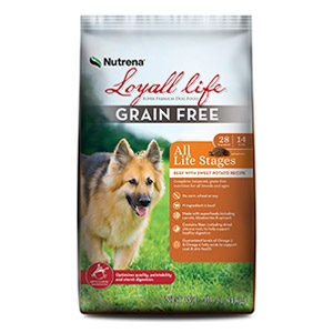 Loyall® Life All Life Stages Grain Free Beef with Sweet Potato Recipe for Dogs 30lb