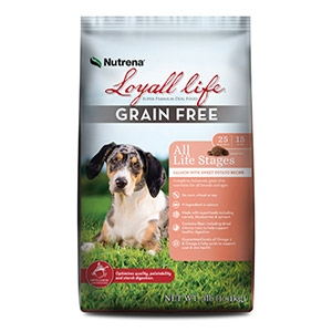 Loyall® Life All Life Stages Grain Free Salmon with Sweet Potato Recipe for Dogs 30lb