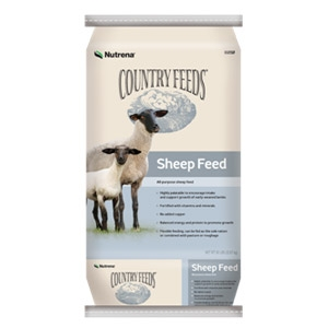 Nutrena® Country Feeds® 16% Textured Sheep Feed 50lb
