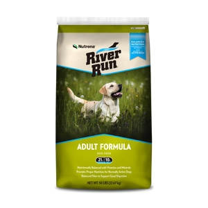 River Run® Adult Formula 21-10 Dog Food 50lb